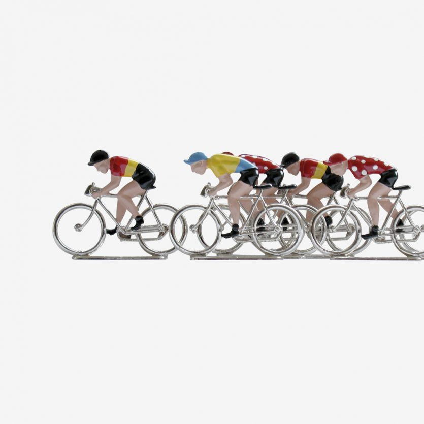 El Juego<br /> de los<br /> Ciclistas